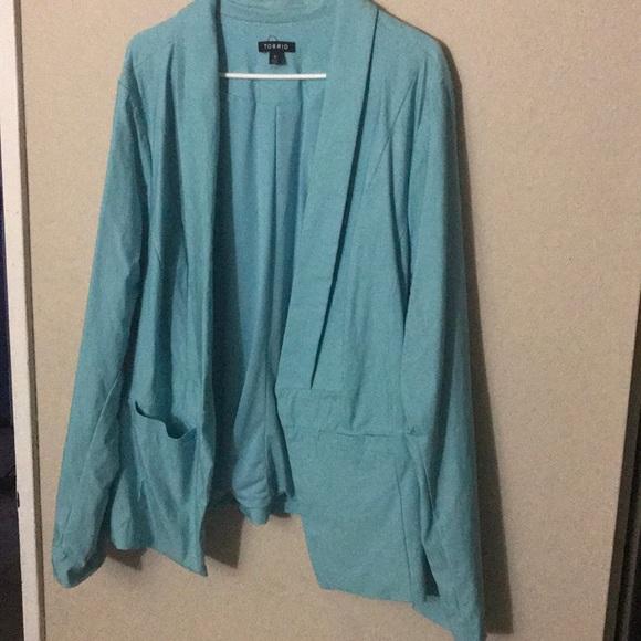 torrid Jackets & Blazers - Sky blue Blazer